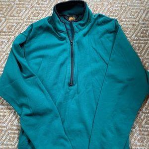 REI half zip pullover